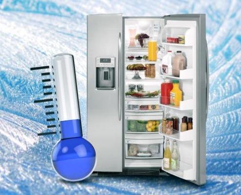 تنظیم دمای یخچال ال جی