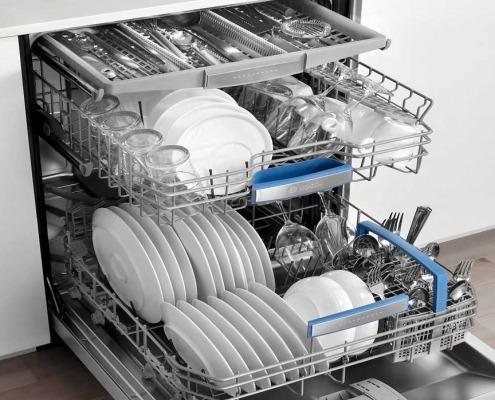 طرز کار ماشین ظرف شویی