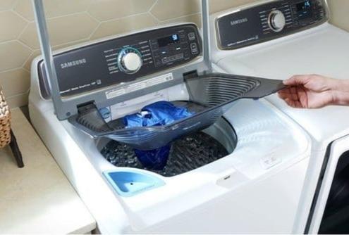 تعمیر ماشینلباسشویی درب از بالا جنرالالکتریک